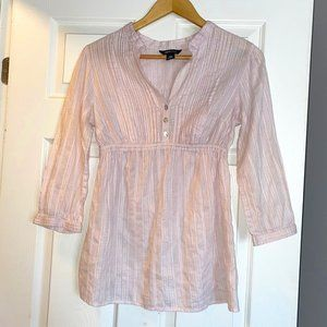 H&M Mama Maternity Top Shirt Blouse Pink Medium